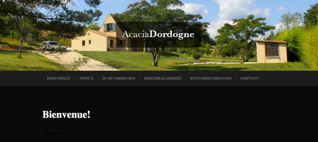 AcaciaDordogne